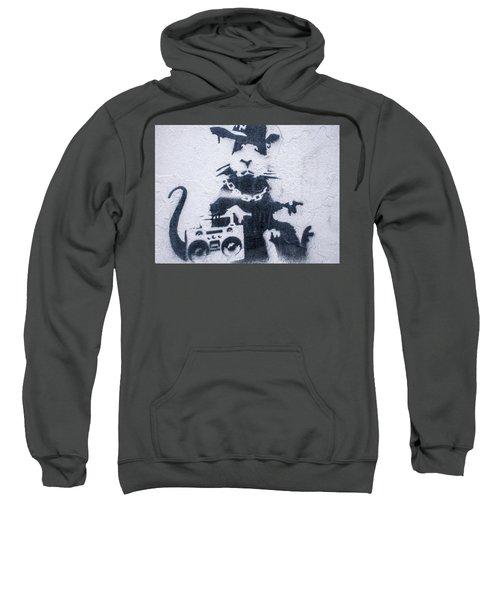 Banksy's Gansta Rat Sweatshirt