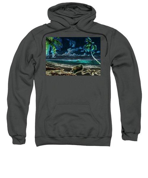 Beach At Night Sweatshirt