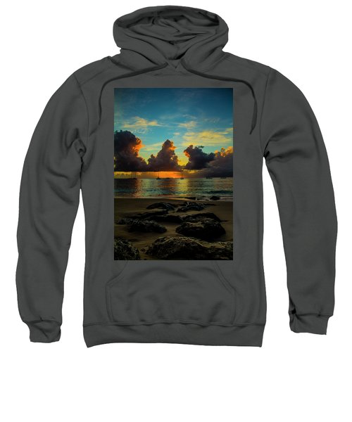 Beach At Sunset 2 Sweatshirt