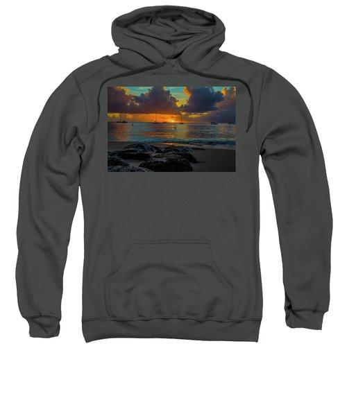 Beach At Sunset Sweatshirt