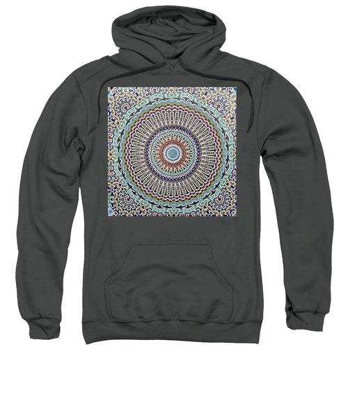 Beautiful Infinity Desgn Mosaic Fountain Sweatshirt