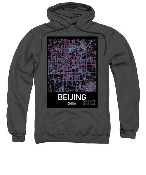Beijing City Map Sweatshirt