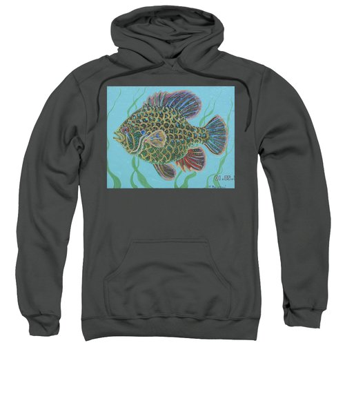 Bejeweled Bluegill Sweatshirt