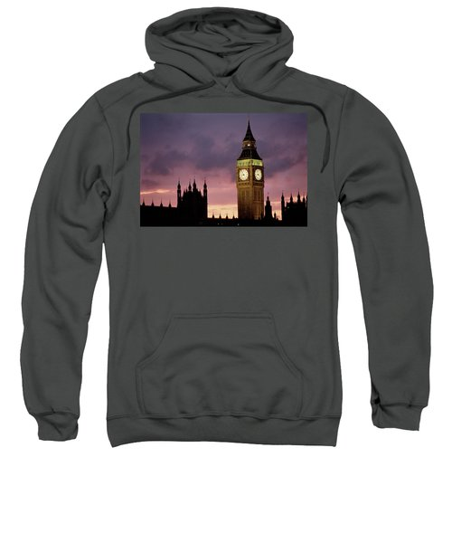 Big Ben Palace Of Westminster London Uk Sweatshirt