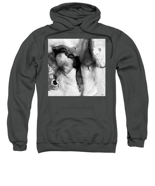 Black And White Art - Rhapsody 2 - Sharon Cummings Sweatshirt