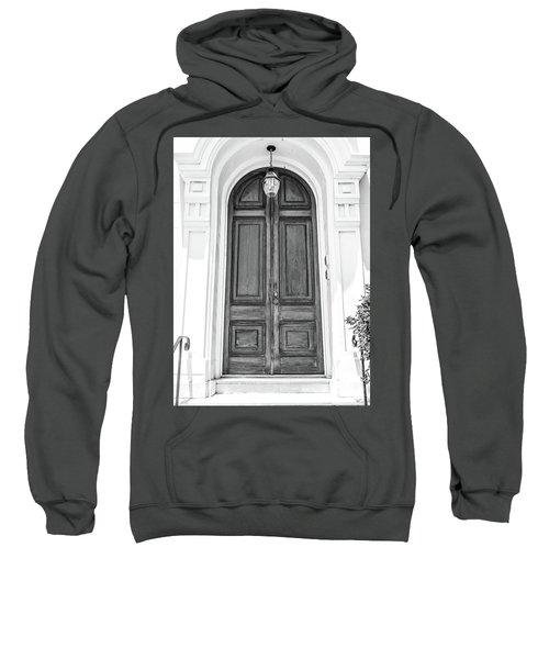Black And White Doors Sweatshirt
