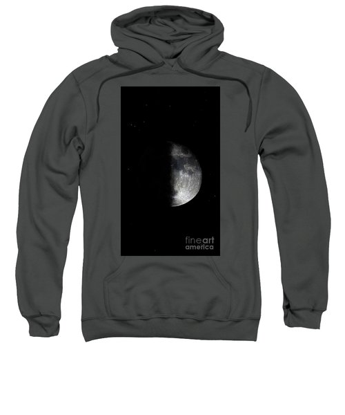 Blood Red Wolf Supermoon Eclipse Series 873dc Sweatshirt
