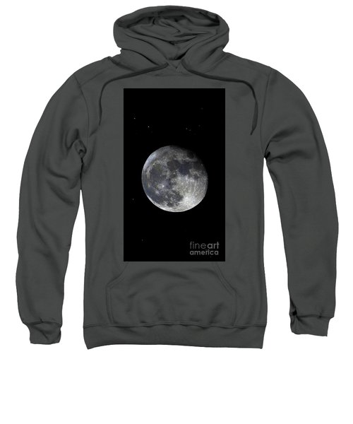 Blood Red Wolf Supermoon Eclipse Series 873dl Sweatshirt