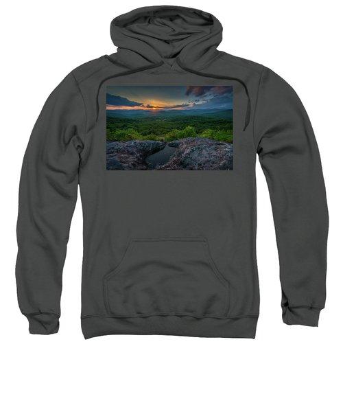 Blue Ridge Mountain Sunset Sweatshirt