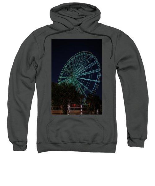 Blue Wheel Sweatshirt