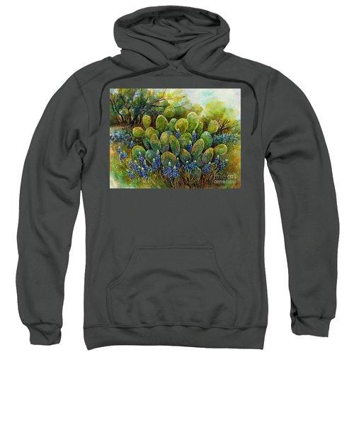 Bluebonnets And Cactus 2 Sweatshirt