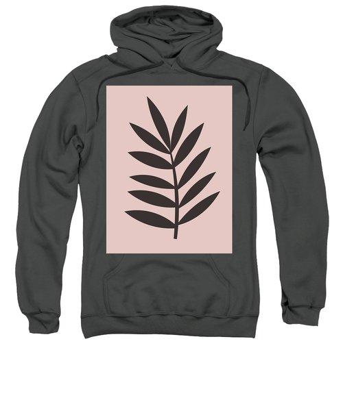 Blush Pink Leaf I Sweatshirt