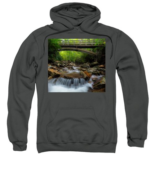 Boone Fork Bridge - Blue Ridge Parkway - North Carolina Sweatshirt