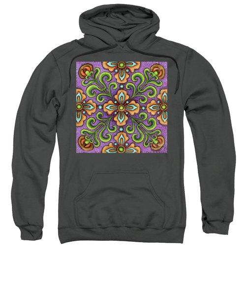 Botanical Mandala 10 Sweatshirt