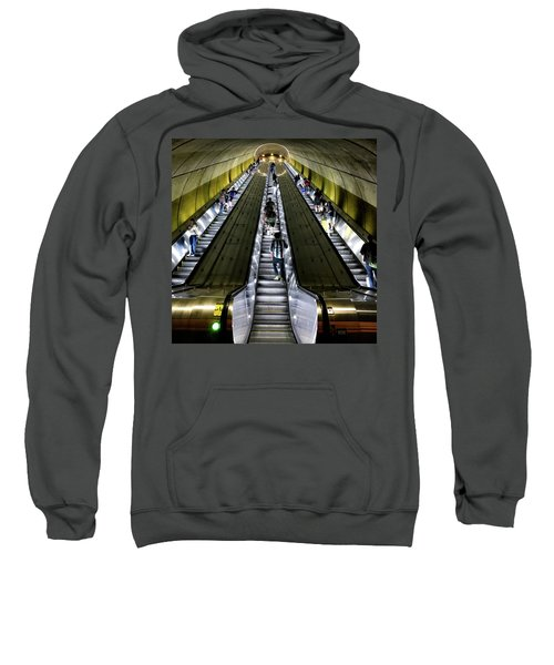 Bright Lights, Tall Escalators Sweatshirt
