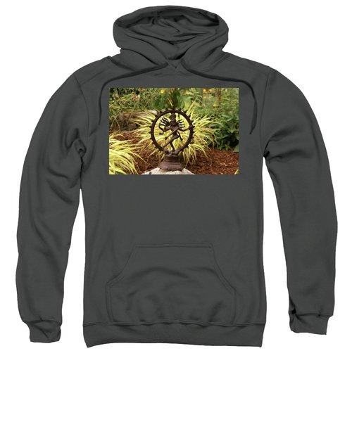 Bronze Shiva In Garden Sweatshirt