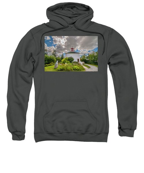 Burntcoast Head Lighthouse  Sweatshirt