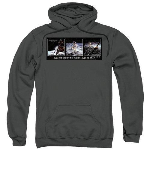 Buzz Aldrin On The Moon Sweatshirt