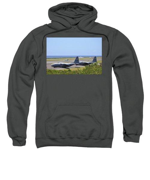 C130h At Rest Sweatshirt