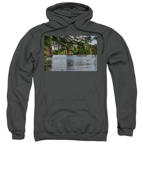 Canoeing Lady Bird Lake Sweatshirt
