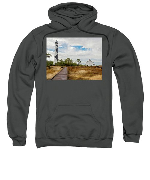 Cape Lookout Lighthouse No. 2 Sweatshirt