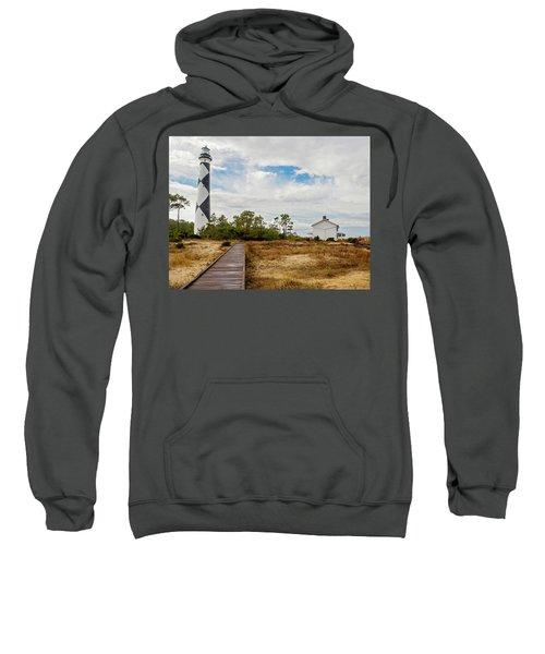 Cape Lookout Lighthouse No. 2 Sweatshirt