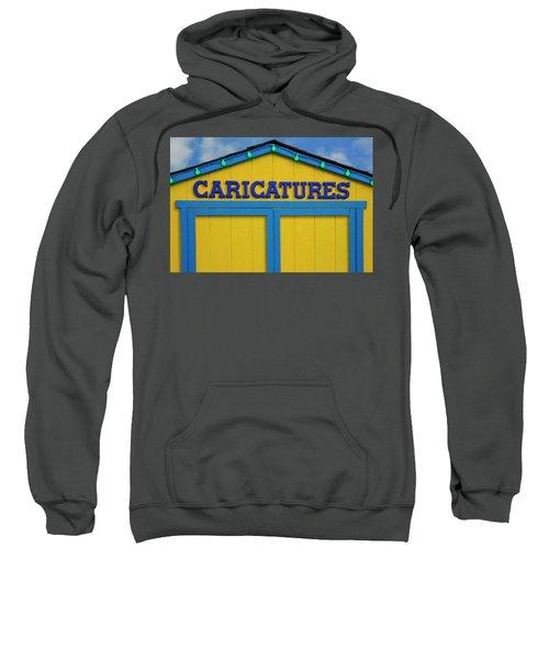 Caricatures Sweatshirt