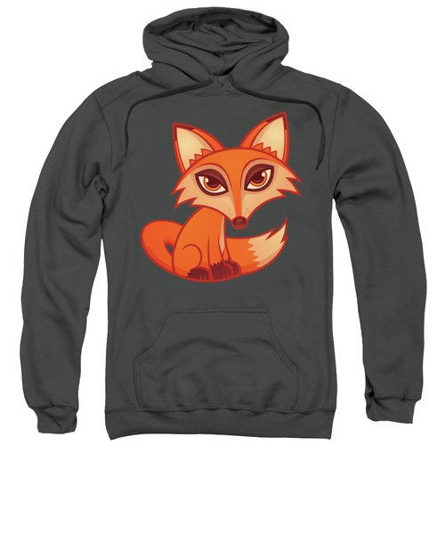 Cartoon Red Fox Sweatshirt