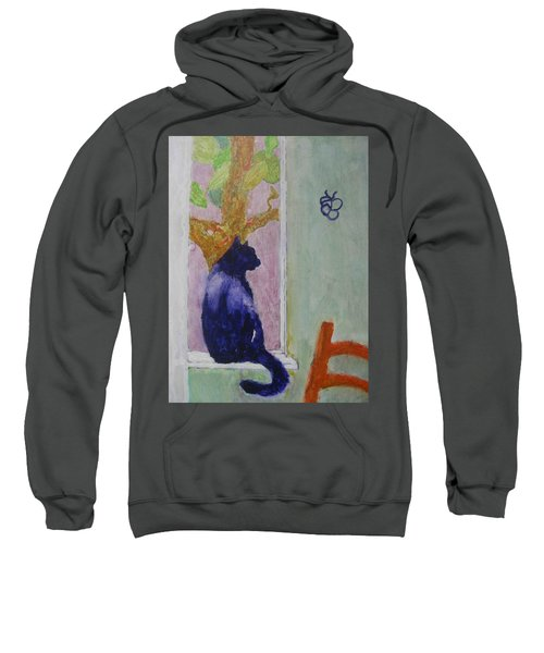 cat named Seamus Sweatshirt