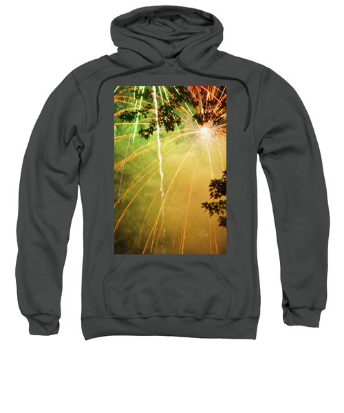 Yellow Fireworks Sweatshirt