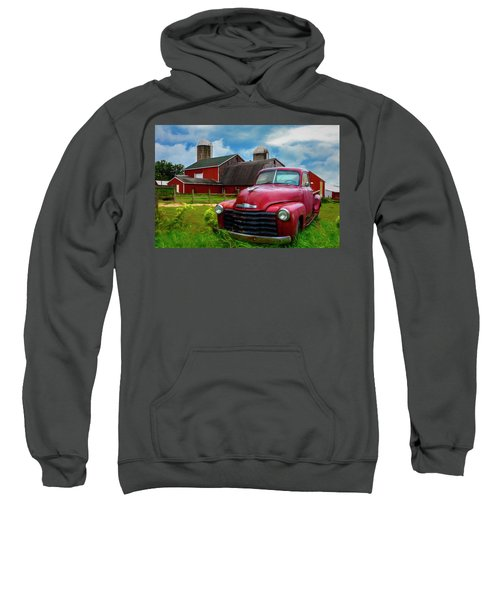 Chevrolet In The Countryside Painting Sweatshirt