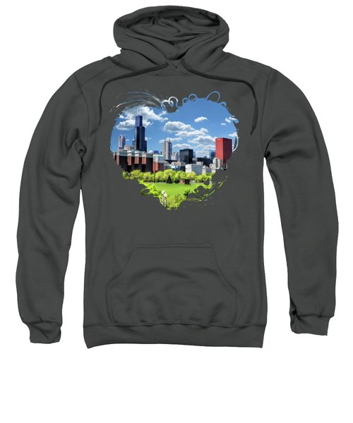 Chicago Historic Michigan Avenue Sweatshirt