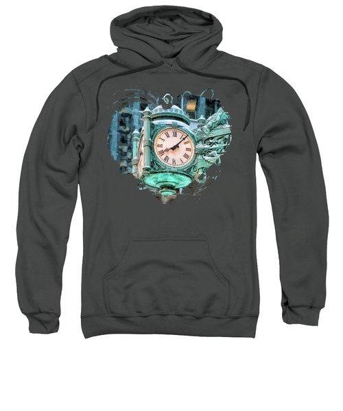 Chicago Marshall Field State Street Clock Sweatshirt
