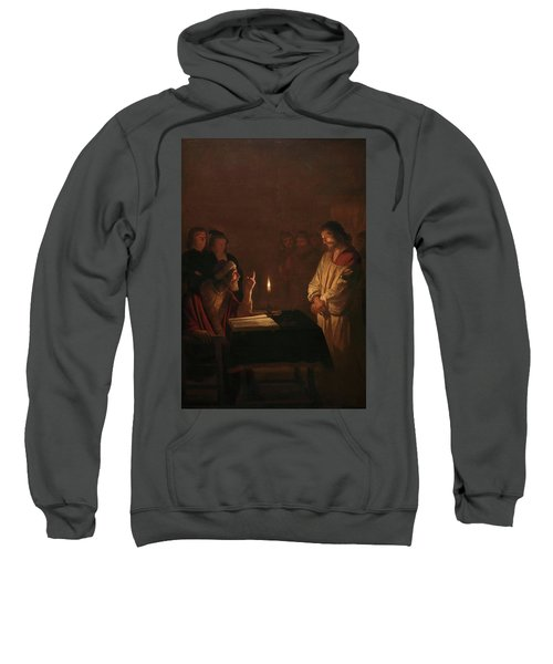Christ Before The High Priest, 1617 Sweatshirt