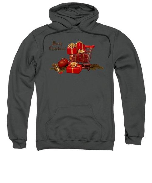 Christmas Shopping Trolley Sweatshirt