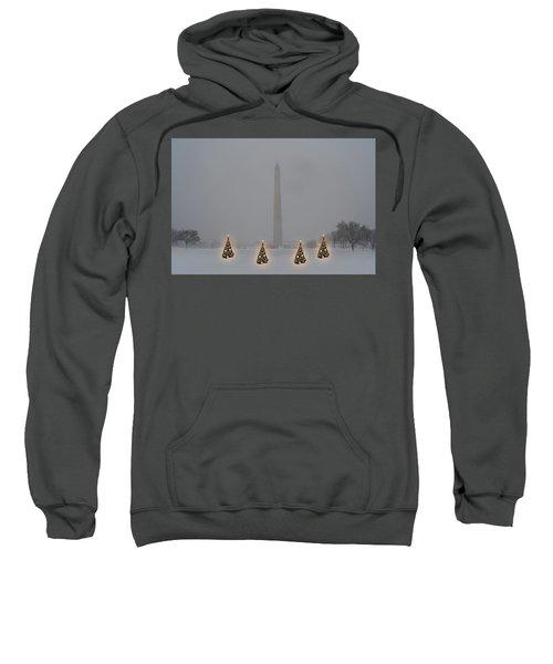 Christmas Trees Around The Monument Sweatshirt