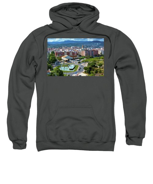 Cityscape In Reus, Spain Sweatshirt