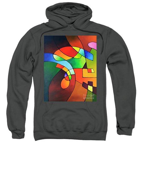 Clear Focus 2, Canvas One Sweatshirt