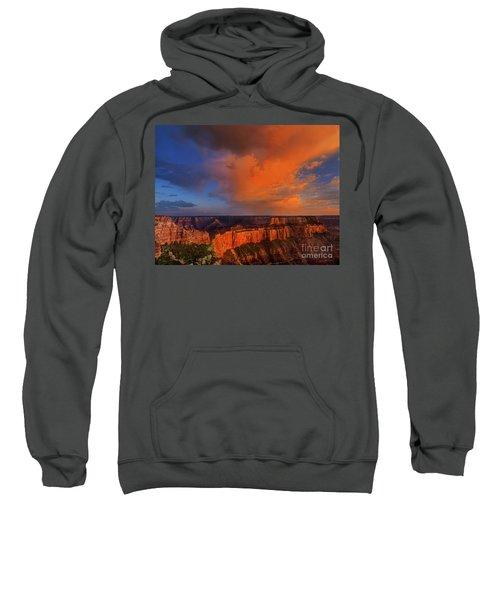 Clearing Storm Cape Royal North Rim Grand Canyon Np Arizona Sweatshirt