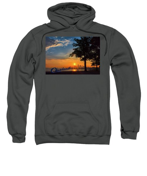 Cleveland Sign Sunrise Sweatshirt