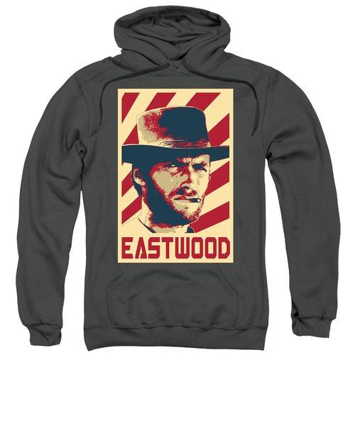 Clint Eastwood Retro Propaganda Sweatshirt