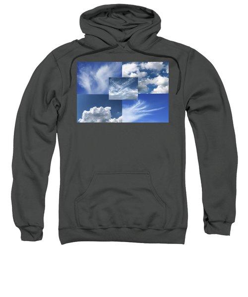 Cloud Collage Two Sweatshirt