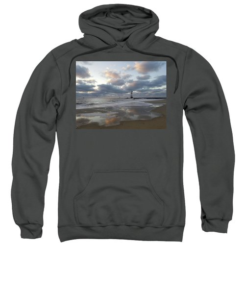 Cloud's Reflections At The Inlet Sweatshirt