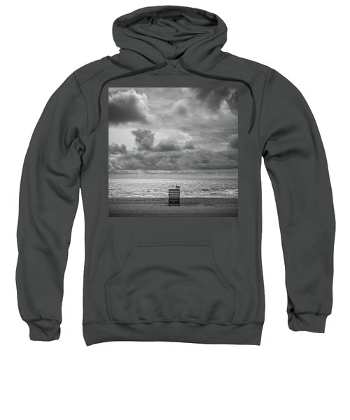 Cloudy Morning Rough Waves Sweatshirt