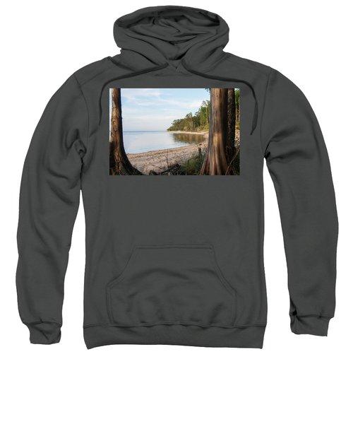 Coastal River Scene Sweatshirt