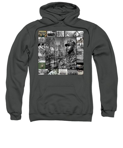 Colonel Trimble Collage Sweatshirt