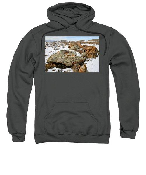 Color In The Book Cliff Desert Sweatshirt