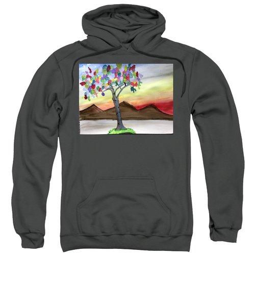 Colored Tree Sweatshirt