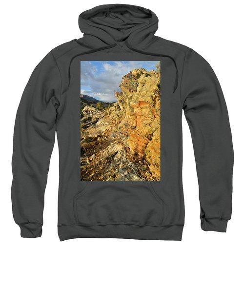 Colorful Entrance To Colorado National Monument Sweatshirt