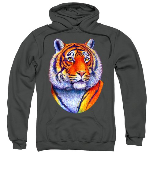 Fiery Beauty - Colorful Bengal Tiger Sweatshirt